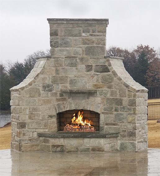 Contractor Series with Custom Accents in Cobblerock Stone