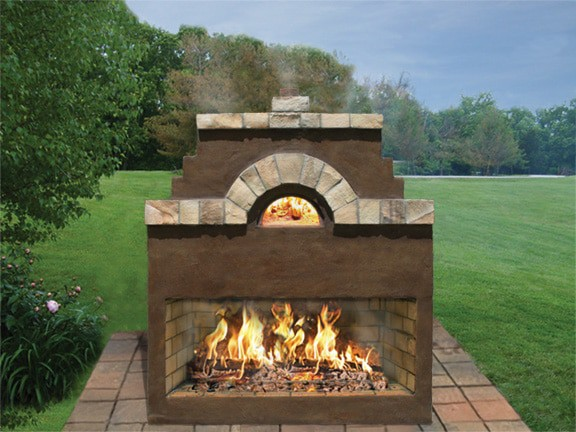 Caminetto™ Medeo Combo Fireplace Oven
