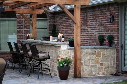 Stone Age Outdoor Kitchen Islands