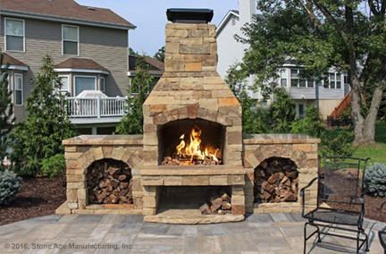 Modular Masonry Fireplaces Pizza Ovens Kitchen Islands And Outdoor Living Kits Stone Age Manufacturing