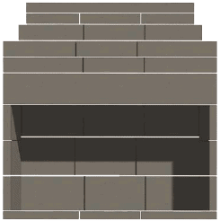 72″ New Age Series Fireplace