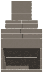 45″ New Age Series Outdoor Fireplace